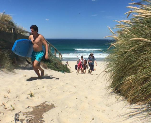 People have been flocking to beaches all over the country as summer temperatures have been on...