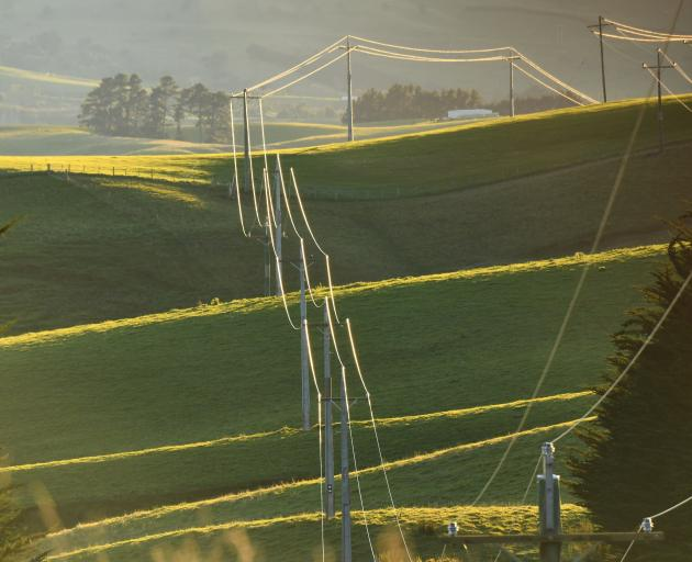 Farmers are urged to keep an eye on power lines following five incidents last month in which water from irrigators came in contact with lines, causing power outages and infrastructure damage. Photo: Alexia Johnston