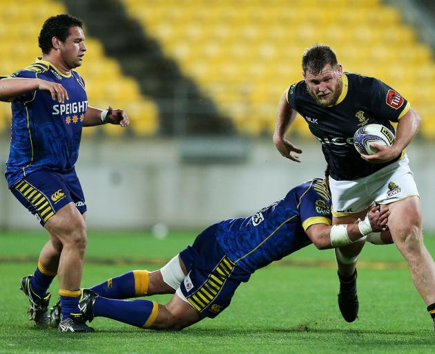 Reggie Goodes in action during an ITM Cup match against Otago. Photo: Getty Images