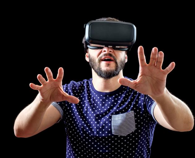Mixed reality has the potential to revolutionise the way we receive and interact with digital information. Photo: Getty