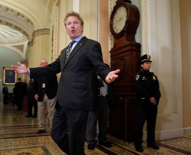 Senator Rand Paul, a stanch fiscal conservative, singlehandedly delayed action on a stopgap...