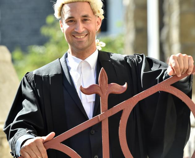 Dunedin prosecutor Sergeant Adrian Cheyne says his legal studies have made him a better police...