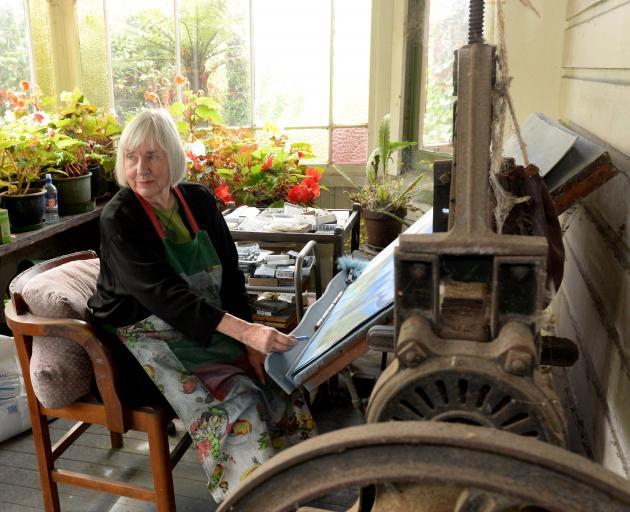 Marilynn Webb enjoys working in pastels. Photo: Linda Robertson