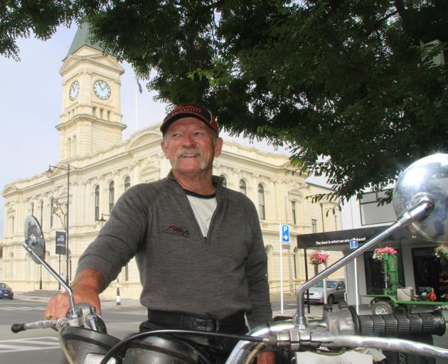 With his motorcycle broken down, cold, wet and unable to find accommodation, Ian Rennie, of...