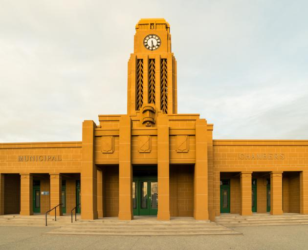 Westport's Back to the Future Floridian-Moroccan tangerine dream, the Municipal Chambers. Photo:...