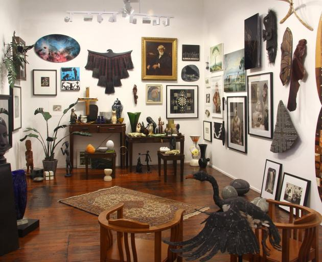 """The """"Wunderkammer"""" installation at Milford Galleries. Photo: Supplied"""