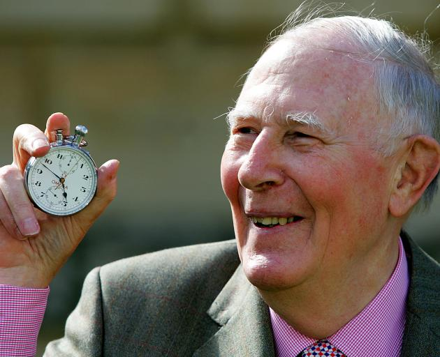Athletics' history maker Roger Bannister dies