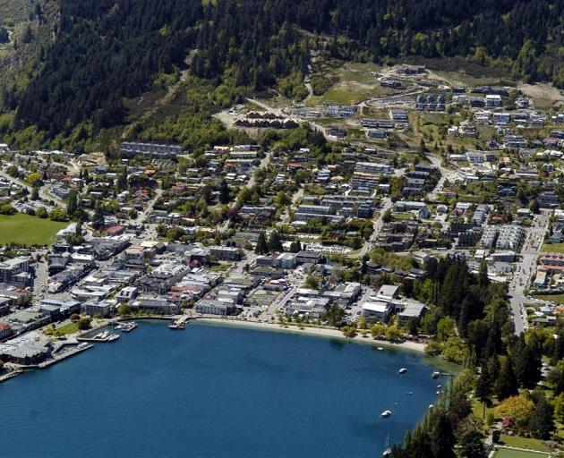 Those living in the Queenstown CBD may be the focus of a targeted rates rise. Photo: ODT files