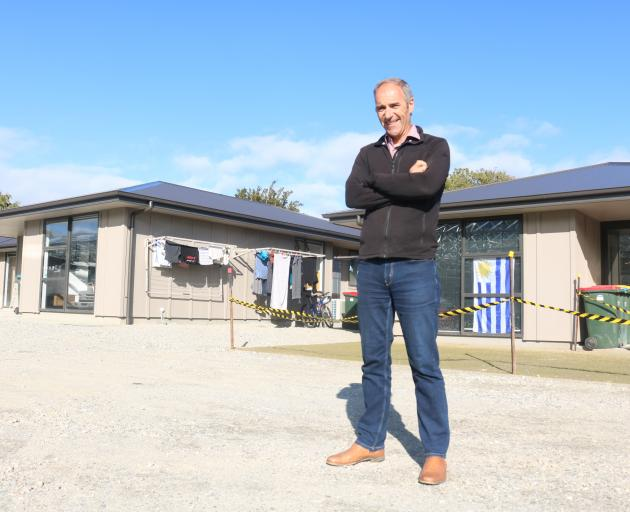 Otago Polytechnic Central Campus head of school Alex Huffadine says the new accommodation complex is part of a $3million redevelopment plan for the Cromwell campus. Photo: Tom Kitchin