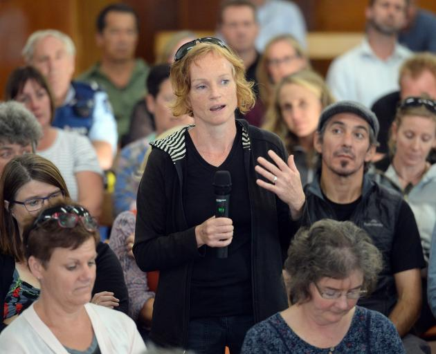 Michelle Ashbury, of Macandrew Bay, shares her concerns about the Otago Peninsula school bus...
