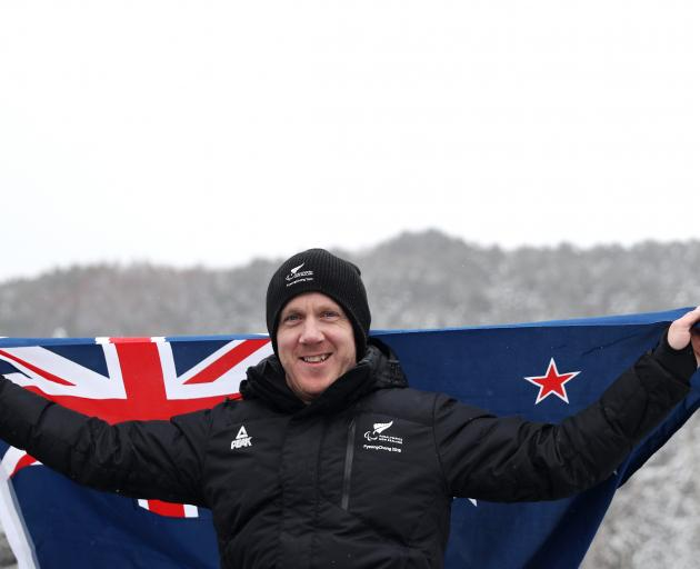 Corey Peters has picked up New Zealand's first medal of the 2018 Winter Paralympics in South...