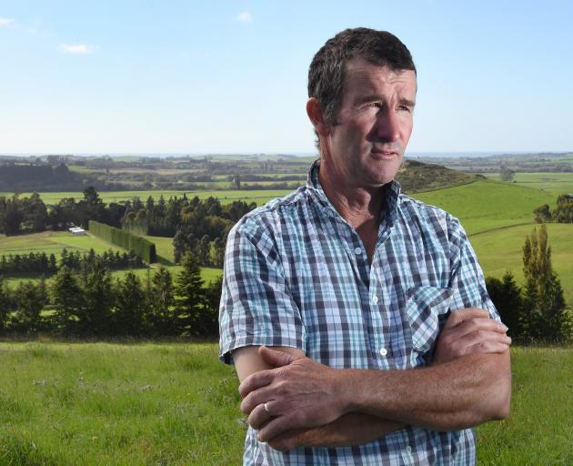 Maheno farmer Kerry Dwyer, who has slaughtered his stock following a Mycoplasma bovis infection,...