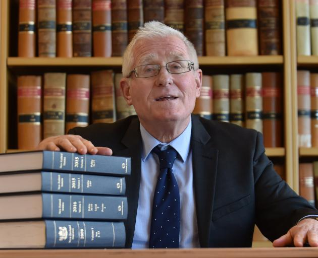 Otago University law dean Mark Henaghan. ODT files