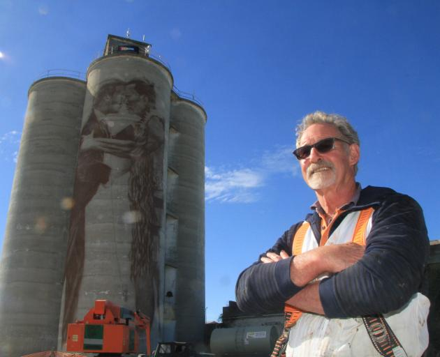 Waimate artist Bill Scott's latest murals will be his largest canvasses yet. He has begun work...