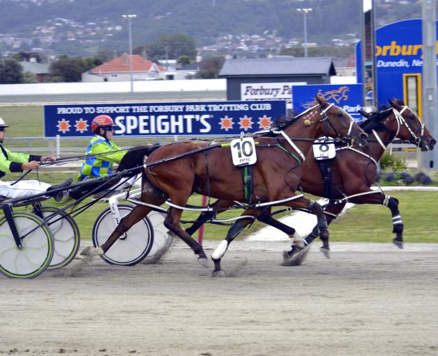 Reddington and driver John Morrison beat Blarney Babe and Mark Hurrell to score an appropriate...