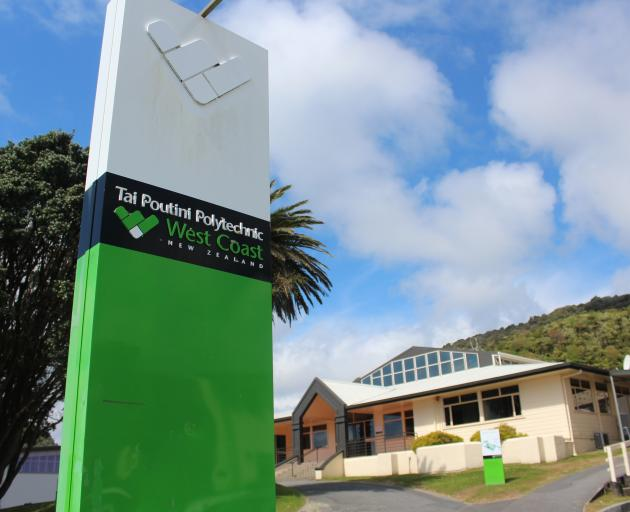 Tai Poutini Polytechnic has been saddled with debt and declining student numbers.  Photo: Brendon...
