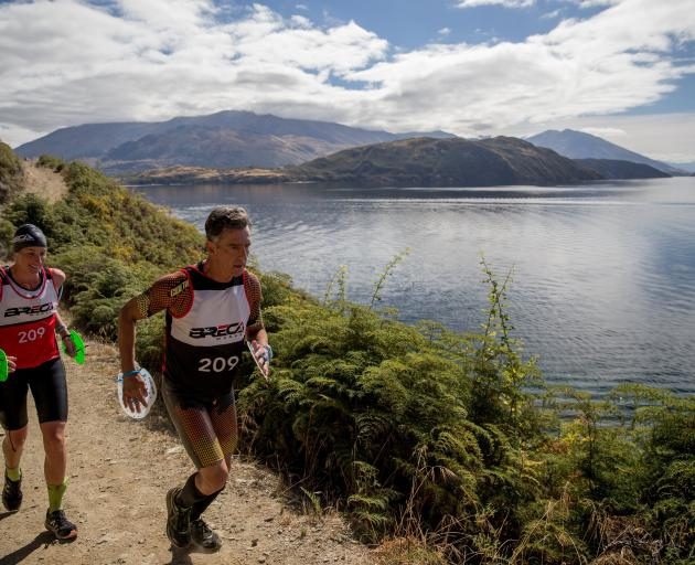 The Breca Swimrun returns to Wanaka this Sunday, a race where athletes run in wetsuits and swim...