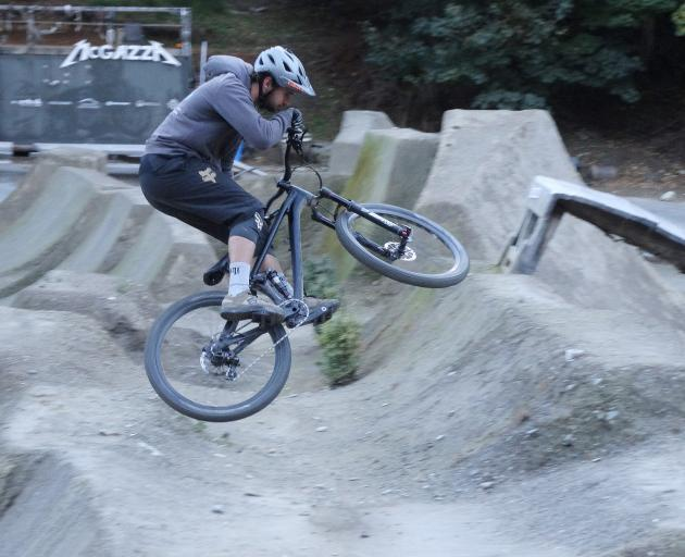Daniel McDonald (27) gets some air at the Gorge Road Jump Park, which is on the hunt for a new...