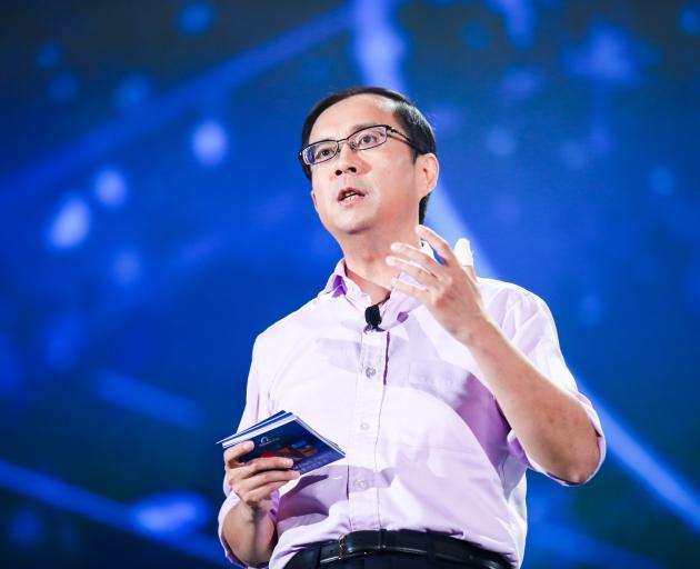 Daniel Zhang of Alibaba. Photo: Getty Images