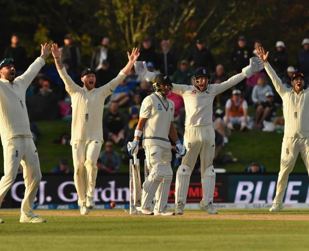 Neil Wagner withstood intense pressure to help save the second test against England. Photo: Getty...