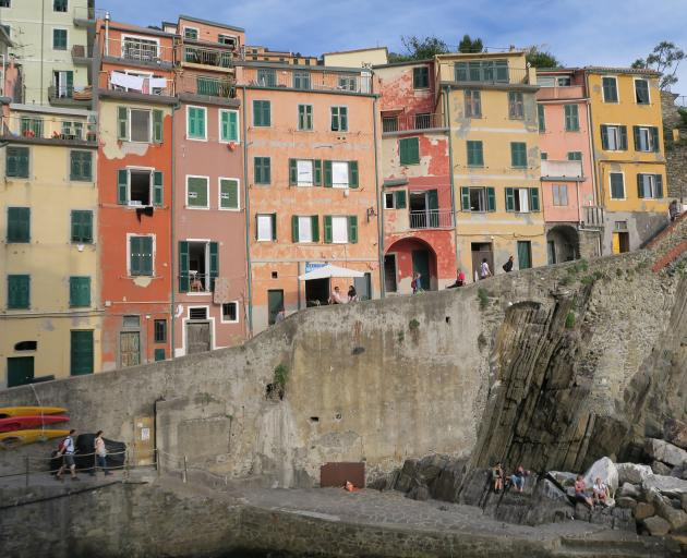 The five fishing villages that make up Cinque Terre, which has been a Unesco World Heritage Site...