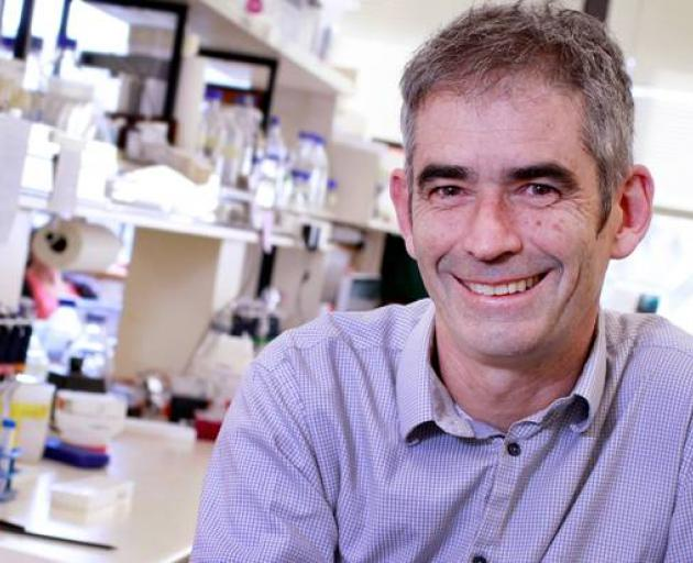 University of Otago cancer researcher Professor Parry Guilford. Photo: NZ Herald