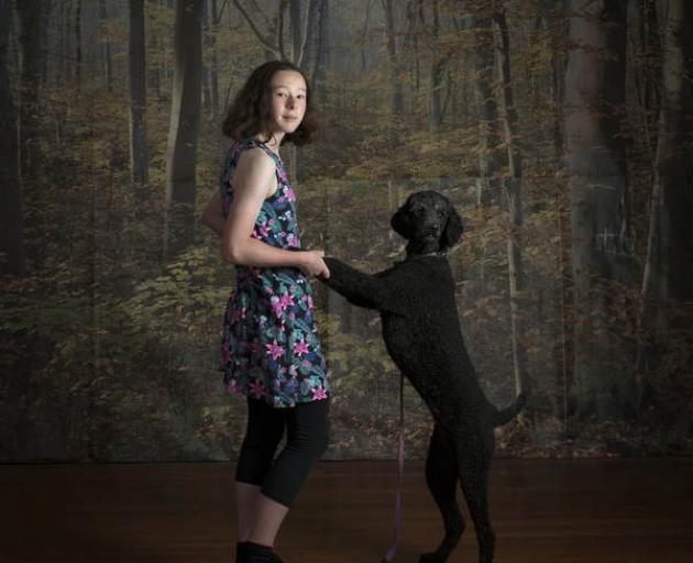 Hannah and Rosie. Photo: Justin Spiers via RNZ