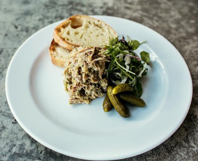 Pork and herb rillette. Photos Emma Willetts