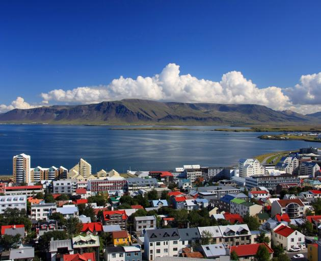 Coastal Reykjavik, home to about 120,000 people, has some 410 square metres of greenery per inhabitant, boosted by its large national parks. Photo: Getty Images