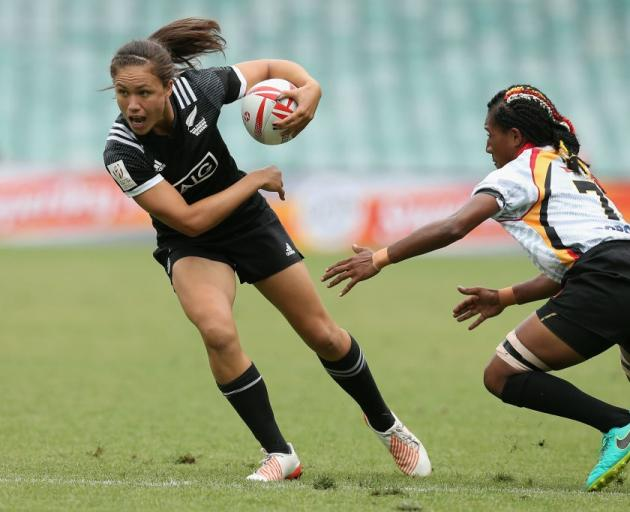 Ruby Tui has been struck down with the mumps on the eve of the Commonwealth Games. Photo: Getty...