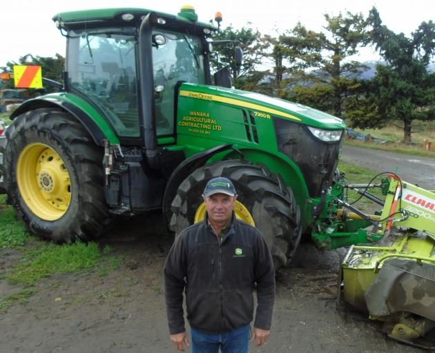 Agricultural contractor Richard Woodhead has been elected as the new zone 4 councillor for the Rural Contractors New Zealand board. Photo: Simon Henderson