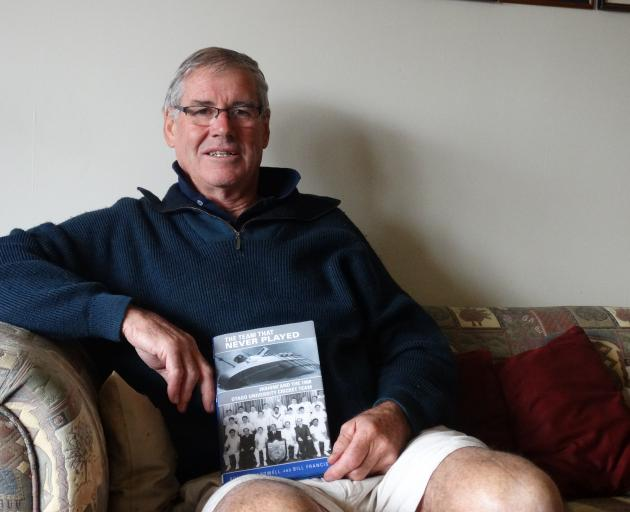 Murray Parker was an Otago University student travelling to a university cricket tournament in Palmerston North when he survived the 1968 Wahine disaster. PHOTO: GRETA YEOMAN