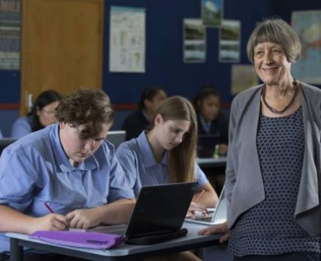 "Waitakere College deputy principal Shona Smith leads one of the country's 214 ""communities of..."