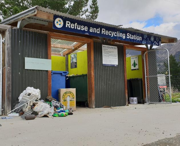 The Hawea Waste Collection Point, the last such facility in the district, is a contentious issue...
