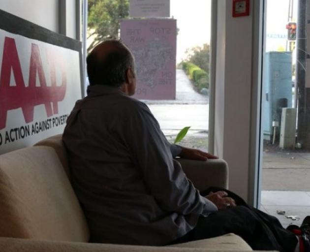 An unemployed man with depression has been told to quit his free night class or he and his...