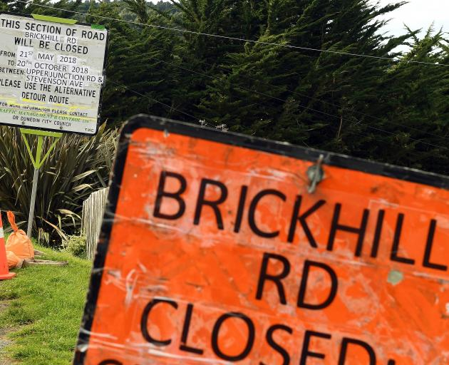 Brick Hill Rd, in Sawyers Bay, will be closed from Monday until October 20 to allow extensive...