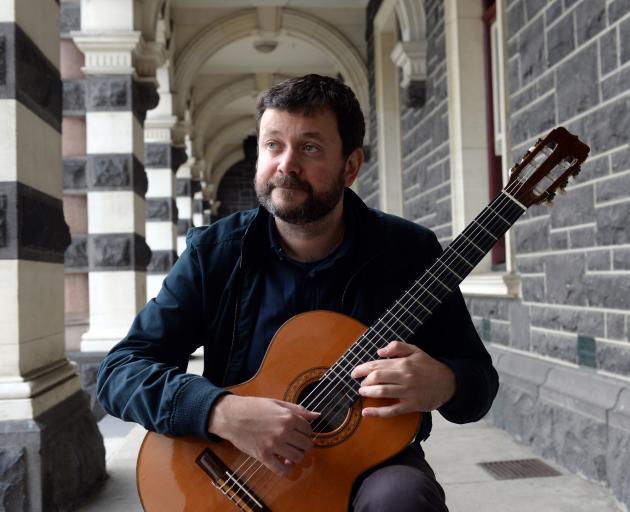 Dylan Lardelli is the 2018 Mozart Fellow. Photo: Linda Robertson