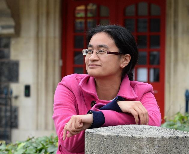Feby Idrus at Allen Hall Theatre, Dunedin where her first play LOve Letters will be performed...