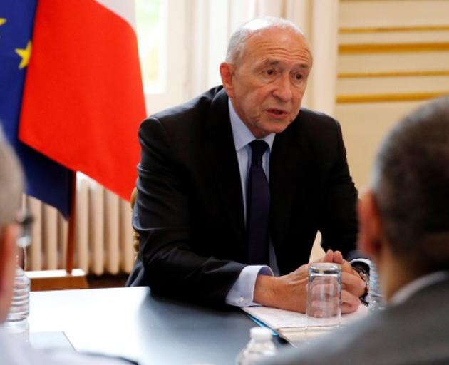 The four people wounded were out of danger, Interior Minister Gerard Collomb told reporters. Photo: Reuters