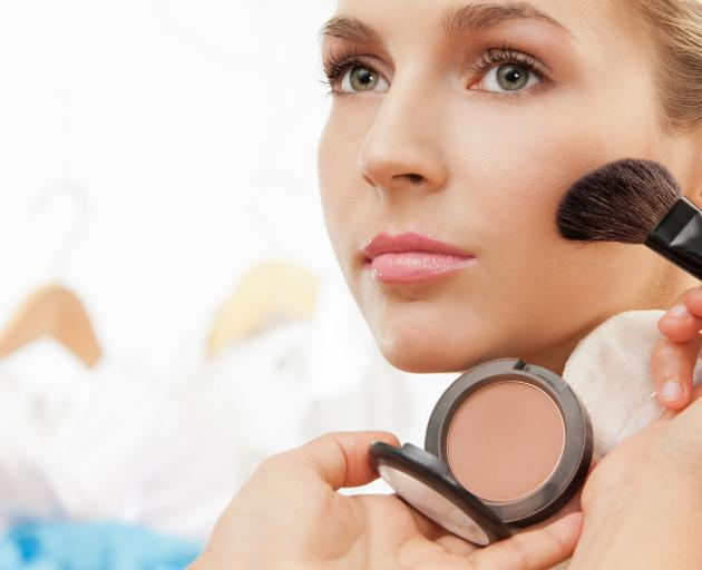 Wearing foundation the wrong shade or wearing too much make-up is the problem Lisa Matson sees...