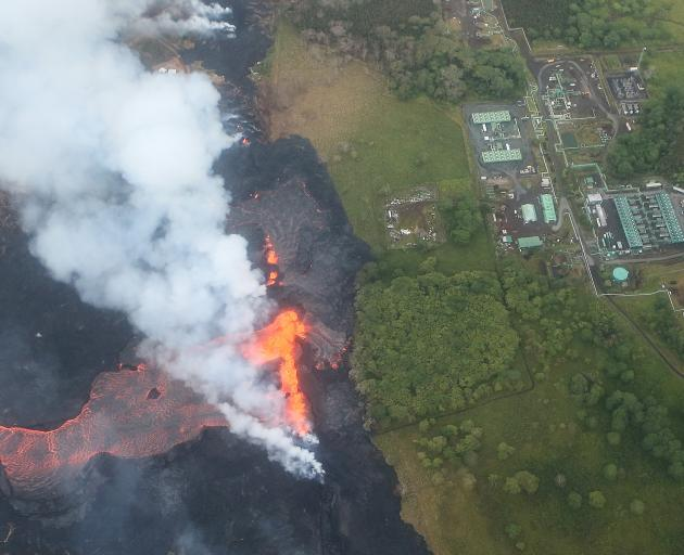 Kilauea volcano lava covers potentially explosive well in Hawaii
