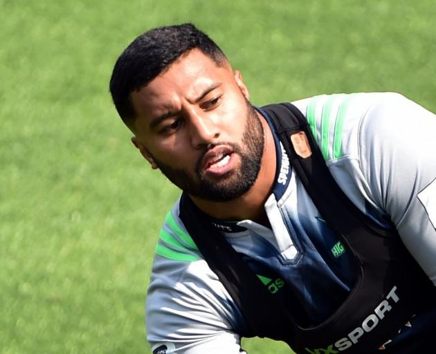 Lima Spooaga will again be a key man for the Highlanders this season. Photo: ODT files