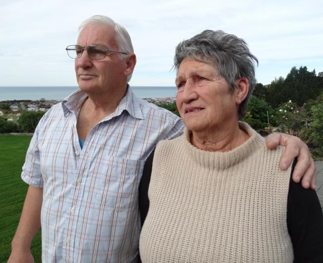 Ian and Ann Harrex, of Oamaru, are optimistic their daughter Teenica will make a full recovery...