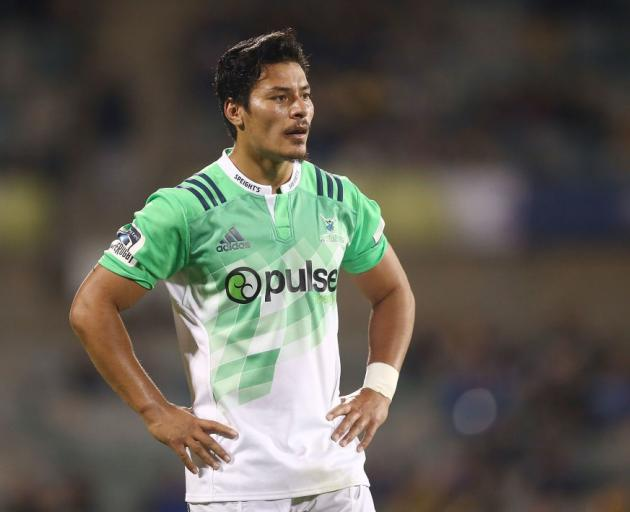 Sio Tomkinson will start at second five-eighth for the Highlanders against the Waratahs on...