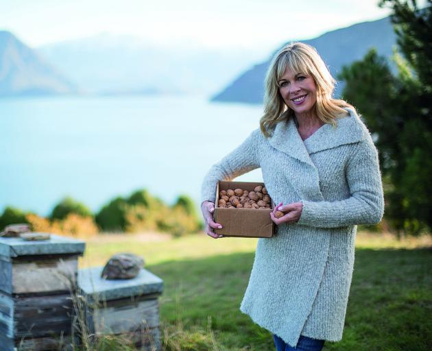 Annabel Langbein in Wanaka. Photo: Supplied