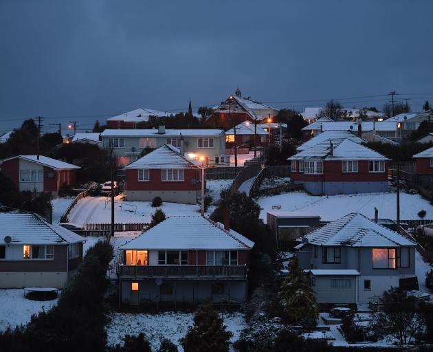 Brockville wakes to snow. Photo: Stephen Jaquiery