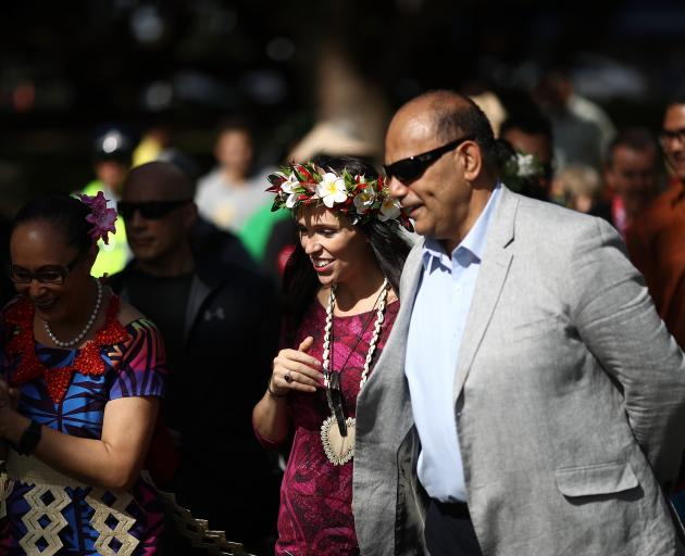 Jacinda Ardern at the Pasifika Festival in Auckland in March this year. Photo: Getty Images
