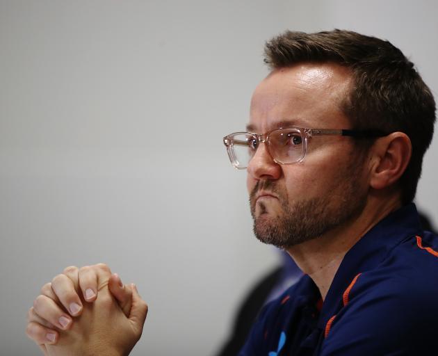 Mike Hesson announces his retirement as Black Caps cricket coach. Photo: Getty Images
