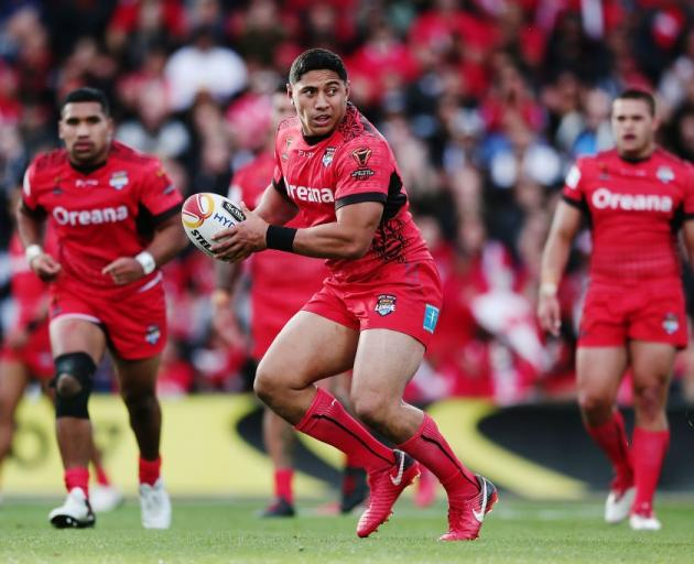 Jason Taumalolo is set to continue representing Tonga in international rugby league. Photo: Getty...