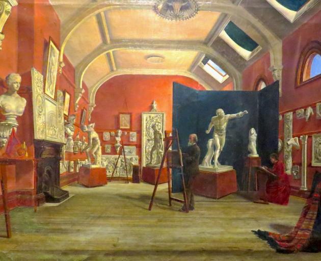 Art Room, Dunedin School of Art, by James Kilgour